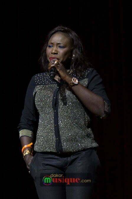 Soda Bousso au Concert de Waly Seck au grand théâtre dimanche 27 avril 2014