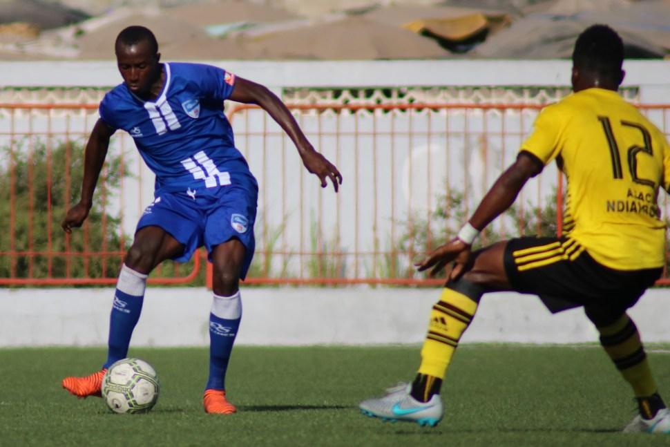 Cheikh Tidiane Sané défenseur de Dakar Sacré-Coeur