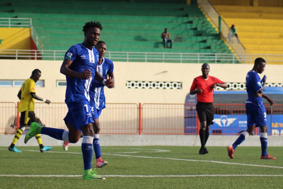 Albert Bougazelli attaquant de Dakar Sacré-Coeur