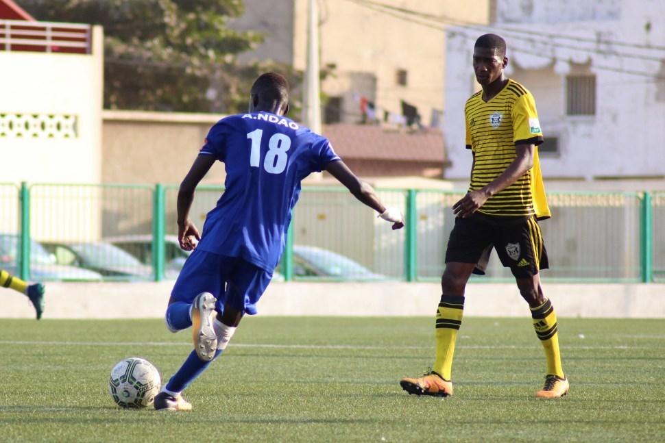 Alassane Ndao attaquant de Dakar Sacré-Coeur