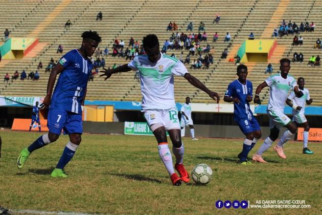 Dakar Sacré-Cœur vs ASC Jaraaf / Albert Bougazelli - Idrissa Cama - Momo Cissé