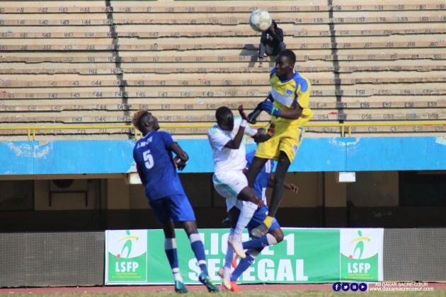 Dakar Sacré-Cœur vs ASC Jaraaf / Adama Wade - Abdallah Dieng