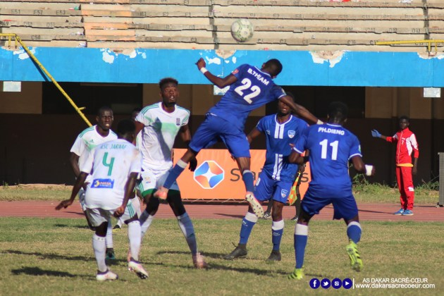 Dakar Sacré-Cœur vs ASC Jaraaf / Boubacar Thiam - Pape Hamidou Dieng