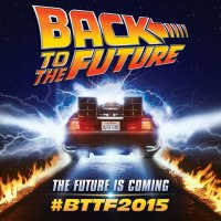 It's 21 october 2015! welcome back to the future!