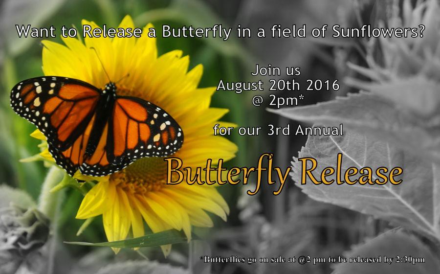 butterfly release 2016