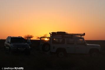 Dakhla Rovers desert sunset Sahara