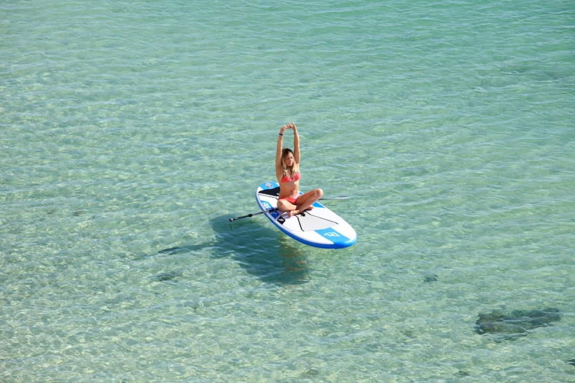 Joga Kite SUP surf dunes Dakhla Rovers Kirsty Jones