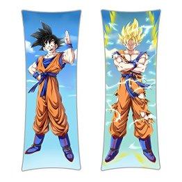 CoolChange Dragon B. Umarmungskissen Son Goku Bezug, Dakimakura Kissenbezug 150x50cm, Motiv: A - 1