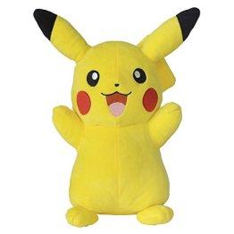 Bandai – Pokémon Plüschtier, Pikachu 30 cm