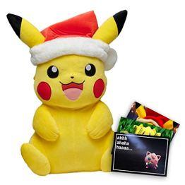 Pokemon XXL Plüschtier Weihnachts Pikachu 60cm