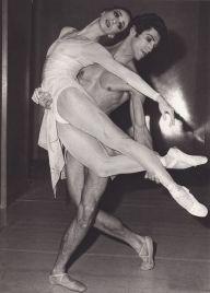 Marcia Haydée (born 18 April 1937) and Richard Cragun (5 October 1944 – 6 August 2012) Stuttgart ballet, 28 November 1976. Photo by Serge Lido.