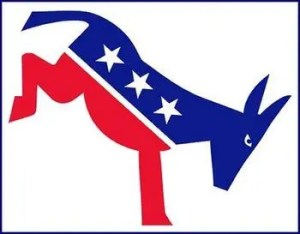 Democratic Kicking Donkey Logo