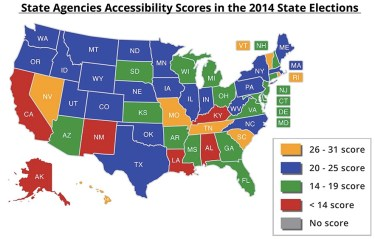 Lucy Burns Institute: 2014 Survey of State Election Office Online Accessibility