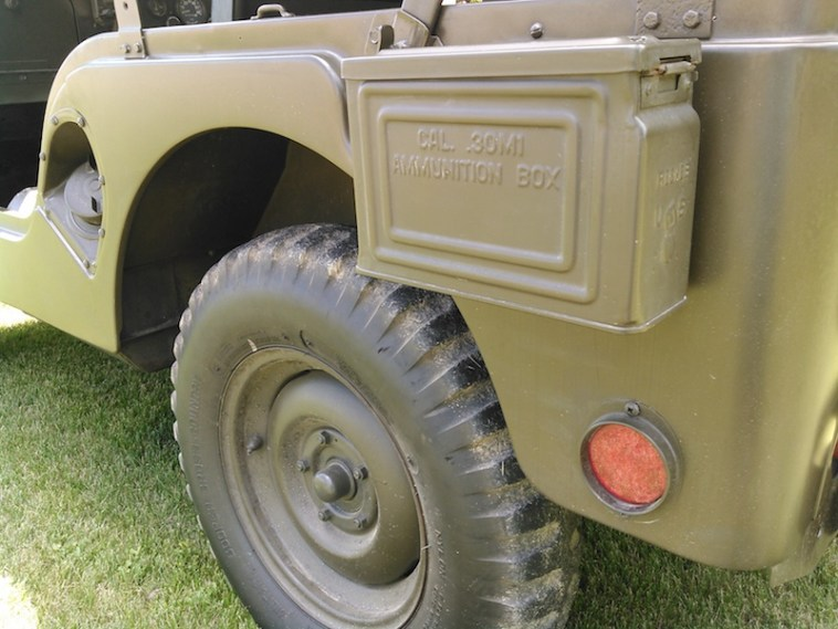 1952 Willys ammo box