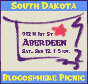 South Dakota Blog Picnic, Aberdeen, SD, September 12, 2015