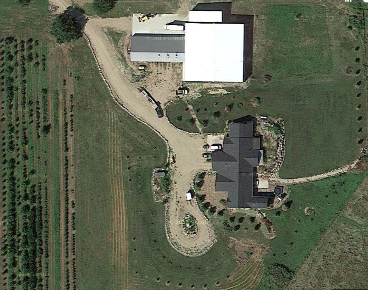 36705 279th Street, Platte, SD. screen cap from Google Maps, 2015.09.22.