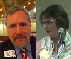 Senator Phil Jensen (R-33/Rapid City) and Rep. Elizabeth May (R-27/Kyle), still beating the welfare-drug-testing drum.