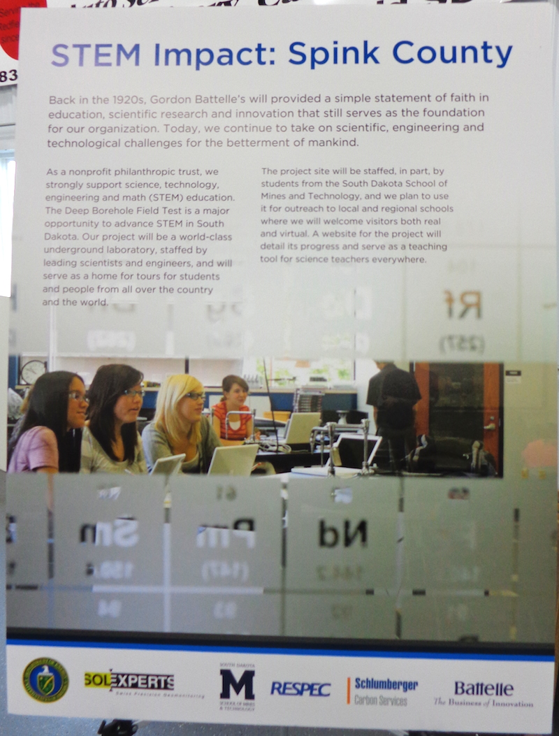 South dakota spink county doland - Science Technology Engineering And Math Stem Education Benefits Of Borehole Project