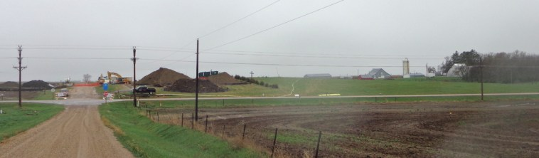 TransCanada Keystone pipeline spill site