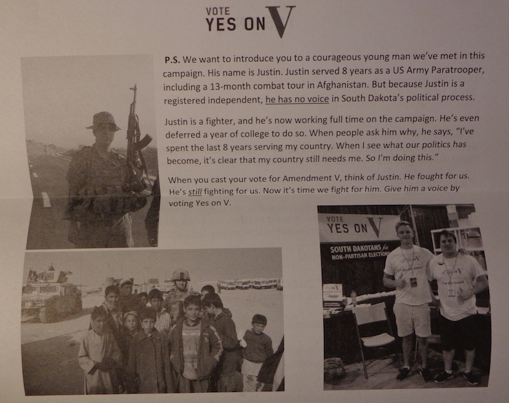 Vote Yes on V flyer, reverse, received by DFP 2016.09.30.