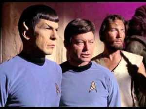 Spock McCoy Omega Glory