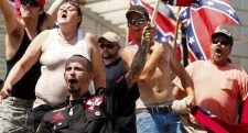 Trump to Klan: Go get 'em, boys! (Photo by Reuters, 2015)