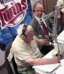 Don Briscoe and Cory Allen Heidelberger in the KSDN studio (from our November 4 on-air visit)