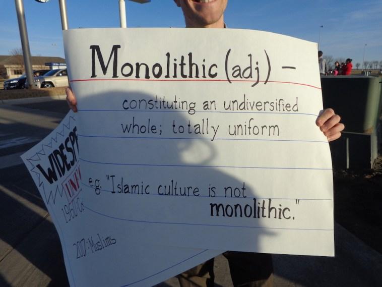 Islam not monolithic