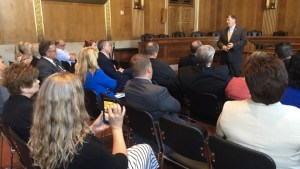 Senator Rounds talks to SD realtors yesterday, the rest of us tomorrow! [photo from @senatorrounds, 2017.05.17]