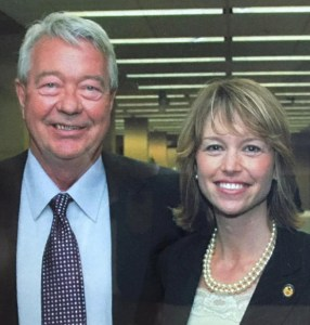 Lars Herseth and Stephanie Herseth Sandlin