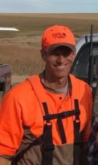 John Thune hunting