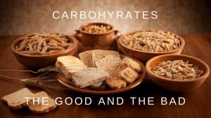 Bread pasta, carbs, good and bad