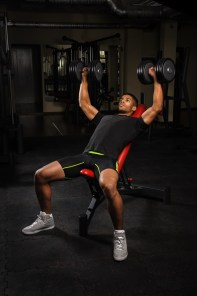 Bench Press with dumbbells