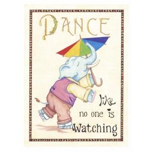"""Elephant Dance"" by Dakota Midnyght Art"