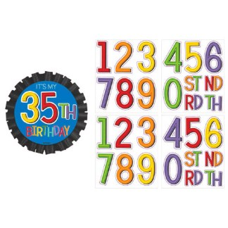 Rainbow Birthday Sash Kit – Dakota Party