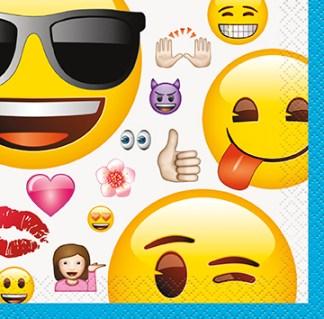 Emoji Cool 9″ Dinner Plates 8ct – Dakota Party