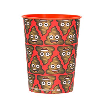 Emoji Poop 16oz Favor Cup Dakota Party