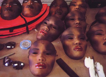 Grace Jones Masks