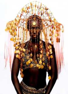 Grace Jones Headdress