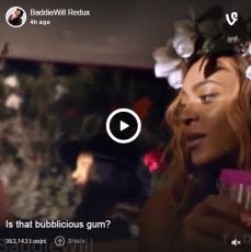 Nicki & Beyonce Feeling Myself Bubblicious Gum Vine