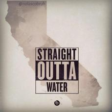 StraightOutta Water Caliornia Map
