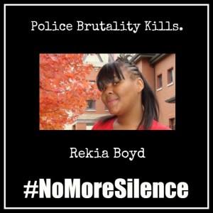 #NoMoreSilence Avatars Rekia Boyd