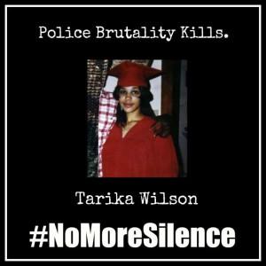 #NoMoreSilence Avatars Tarika Wilson