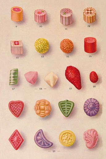 Grandma's Holiday Candy Guide
