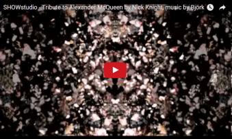 showstudio_bjork alexander mcqueen tribute video