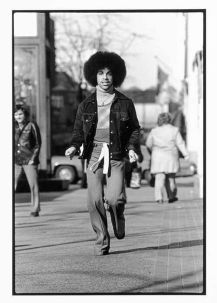 Prince photo by Robert Whiten. 1977
