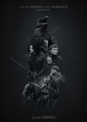 Nights Watch Jack Usephot Game of Thrones Posters