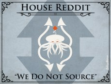 Game of Thrones House Sigils Social Media Internet College Humor