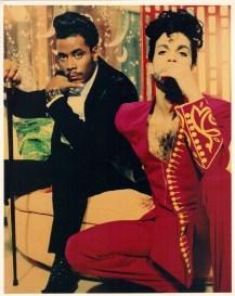 Prince squat posing sexy