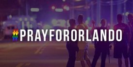 Pray For Orlando meme hashtag with scenes from outside Pullse